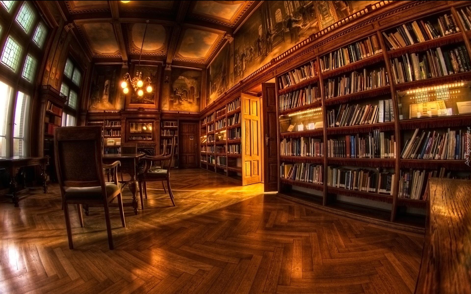 Къща с книги